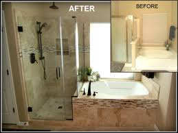 ideas for small bathrooms makeover before and after remodeled small bathrooms smart elimination of