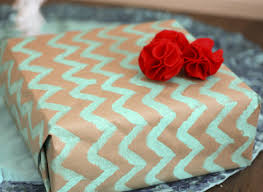 gift paper wrap last minute gift ideas chevron wrapping paper huffpost