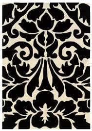 Brown And White Area Rug Black And White Area Rugs Brown Decorate With Black And White
