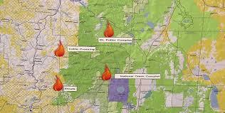 14 large fires burning in oregon washington