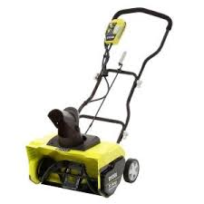 snow blower at home depot on black friday ryobi 16 in 10 amp corded electric snow blower ryac801 the home