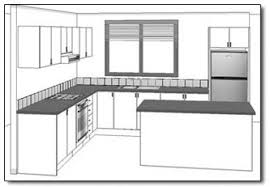 l shaped kitchen with island layout kitchen plans nz by easy kitchens