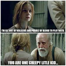 Carol Walking Dead Meme - the walking dead 4 images tv show meme
