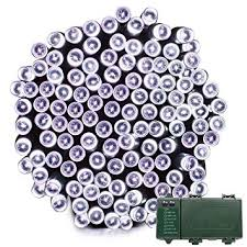 vmanoo battery operated outdoor string lights 200 led