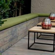 green bench cushion photos hgtv