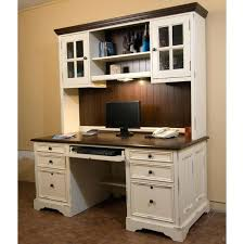 White Wood Computer Desk Desk Wooden Desk With Hutch Solid Wood Computer Desk With Hutch