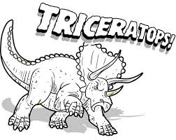 triceratops coloring pages bestofcoloring