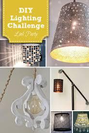 Diy Light Fixtures Diy Twinkling Pendant Light Lighting Challenge Link Up Pretty