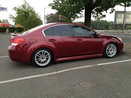 slammed subaru legacy show off your 5th gen u0027s aftermarket wheels page 2 subaru
