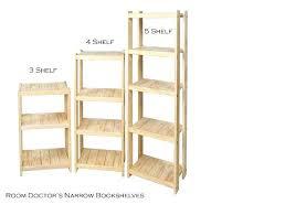 3 shelf narrow bookcase narrow bookshelves pscenter info