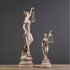 Greek God Statues by Aliexpress Com Buy Hotels Decoration Lady Justice Statue Greek