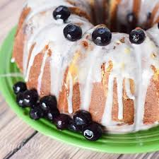 lemon blueberry pound cake a delcious summer dessert kenarry