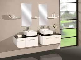 Small Bathroom Storage Cabinet Bathroom Glass Bowl Sink Feat Dark Brown Wood Narrow Depth