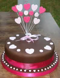 Cake Decoration Ideas At Home Home Design Heart Birthday Cake Designs Happy Birthday Cake