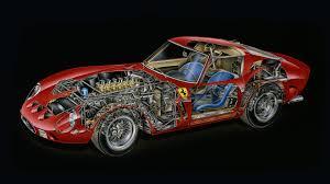 250 gto interior kimble cutaway 1962 250 gto