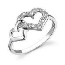 cincin perak cincin perak lapis rhodium cs129