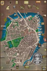 Boston Map 1776 by Quality Historical Maps By Ed Mccarthy