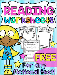 free reading response worksheets by my teaching pal tpt grades