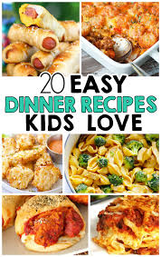 easy thanksgiving recipes for preschoolers 20 easy dinner recipes that kids love i heart arts n crafts