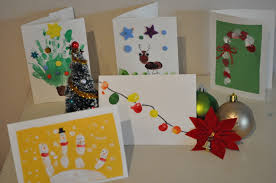 homemade christmas card ideas to do with kids u2022 brisbane kids
