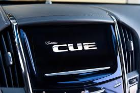 cadillac srx cue system 2013 cadillac srx adds cue technology to rear seat entertainment