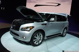 infiniti qx56 hood release ny show 2011 infiniti qx officially unveiled priced from 56 700