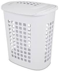 Stainless Steel Laundry Hamper by Sterilite 81 Liter Lift Top White Laundry Hamper Walmart Canada