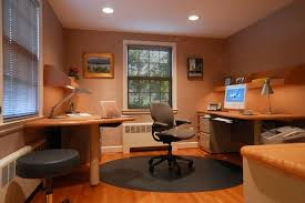 Small Office Interior Design Ideas Captivating Small Office Decor Ideas With Wooden Office Desk And