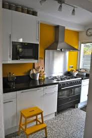 yellow kitchen ideas kitchen the yellow accent wall home home