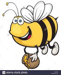 vector illustration of cartoon bee stock vector art u0026 illustration