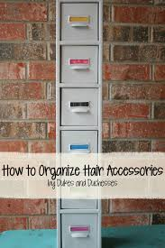 organize hair accessories how to organize hair accessories dukes and duchesses