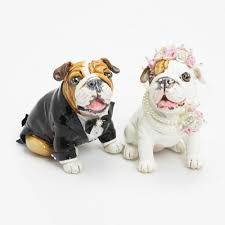bulldog cake topper wedding gift ideas for dog lading for