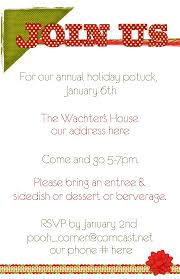 office potluck invitation email sample infoinvitation co
