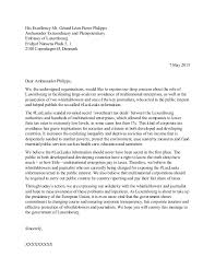 draft letter to luxembourg embassy