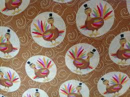 steve hask s thanksgiving turkey fabric
