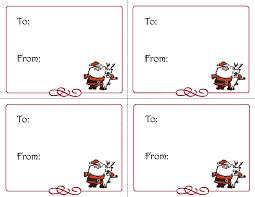Christmas Light Template Free Christmas Gift Tag Template Word Design Idea Of Chrismas