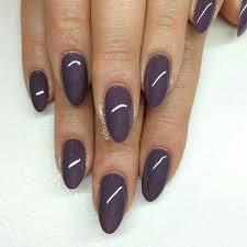 ashy purple almond nails nails nail art pinterest almond
