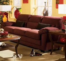 Rich Living Room by Fabric Livng Room Delano U406 Raisin