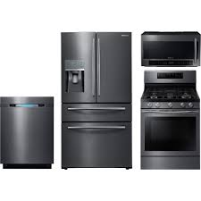 kitchen appliance bundle stainless steel fridge and stove combo samsung appliance bundle