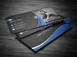 Business Cards Own Design Fitness Business Cards Lilbibby Com