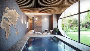 House Plans With Indoor Pools Indoor Swimming Pool Design Home Design