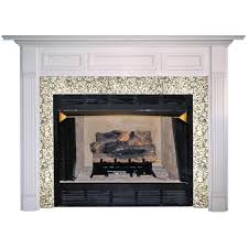 agee woodworks normandy wood fireplace mantel surround hayneedle