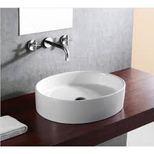 european style porcelain ceramic countertop bathroom vessel sink