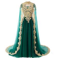 evening dresses for weddings gold lace vintage prom evening dresses wedding gowns with