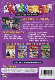 monster truck music videos amazon com the kidsongs tv show we love trucks tiffany burton