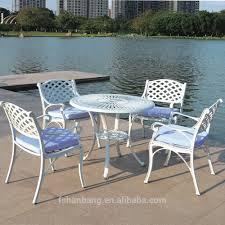 Patio Furniture Cast Aluminum Frightening Waterproof Outdoor Furniture Picture Design Modern