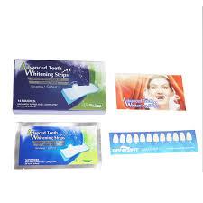 14 pairs advanced teeth whitening strips gel care oral hygiene