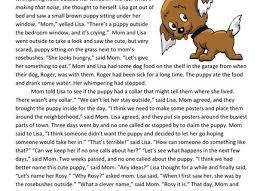 43 4th grade reading comprehension worksheets endangered species
