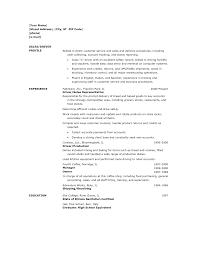 Sample Resume For Customer Service Associate 100 Ups Delivery Driver Resume Sample 100 Resume Customer