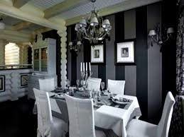 Black And White Dining Room Chairs by Enchanting 10 Black Restaurant Decorating Inspiration Design Of